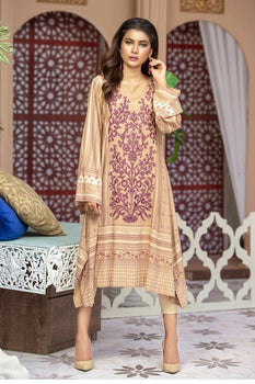 Design 9A Saher - LSM Fabrics Kurta Collection