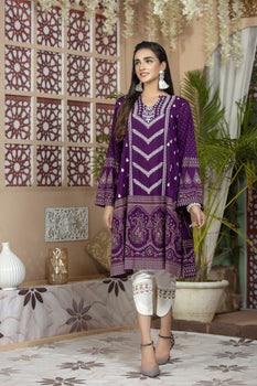 Design 10A Saher - LSM Fabrics Kurta Collection