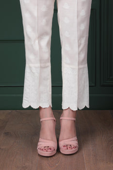White Paste - Sapphire Trousers