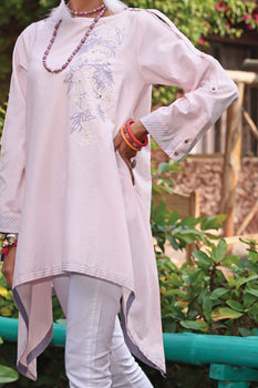 Light Purple Lawn Kurta - Almirah