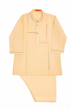 Cream Kameez Shalwar - J. Festive Infants