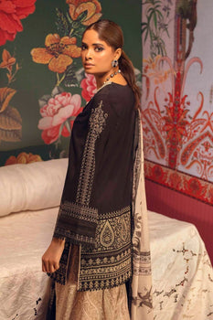 10A Mina Hasan Embroidered Lawn Collection
