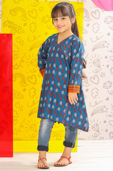 Indian Ink Kurta - J. Junaid Jamshed Kids