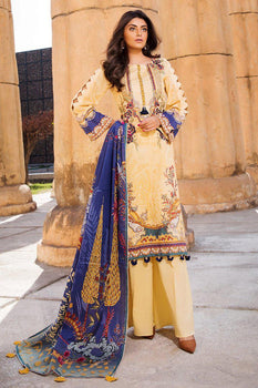 Design 8 - Motifz Amal Lawn Collection