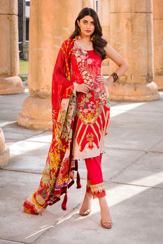 Design 16 - Motifz Amal Lawn Collection