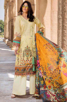 Design 20 - Motifz Amal Lawn Collection