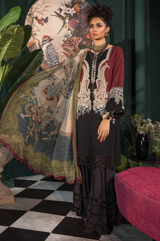 MPT19-03B - Maria B M Prints Winter Collection