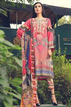 Wild-Azalea - Motifz Amal Linen Collection