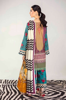 2B Mina Hasan Embroidered Lawn Collection