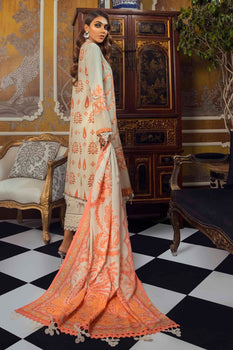 3A Mina Hasan Embroidered Lawn Collection
