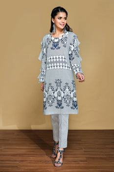 Printed Lawn & Cambric 2PC