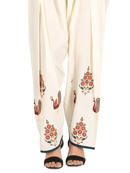 Off White Trousers - Almirah