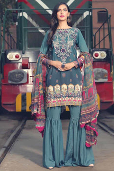 Mor Bagh - Motifz Amal Linen Collection
