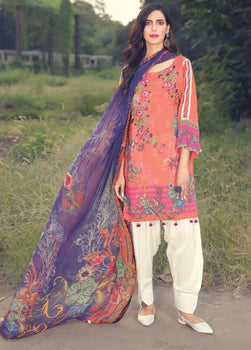 Morning Blaze - Motifz Amal Linen Collection