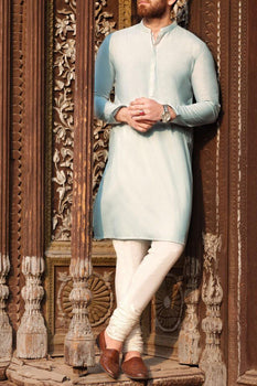 Light Blue Kurta - Almirah Festive