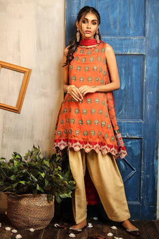 Design 3 Dastaan Embroidered Collection - LSM Fabrics