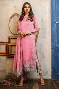 Design 5 Dastaan Embroidered Collection - LSM Fabrics