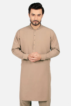 Light Brown Shalwar Kameez - Edenrobe Collection