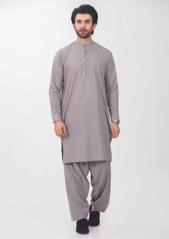 Light Grey Shalwar Suit - Bonanza