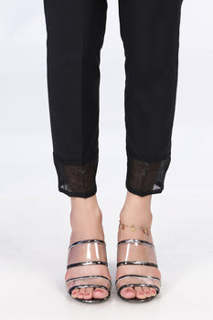 Black Lace Trousers - Stonez