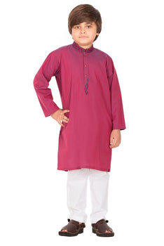 Plum Boys Kurta- J. Junaid Jamshed Winter