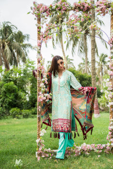 Janan Luxury Emb Unstitched Collection