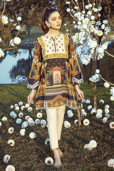 Khayaban E Mughal (1 Piece) - Cross Stitch Luxury Lawn