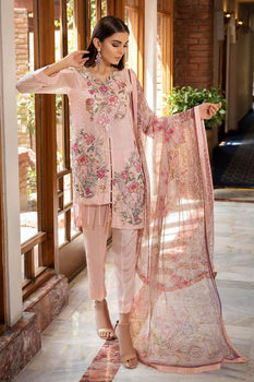 Spring Bloom - Khas Chiffon Collection