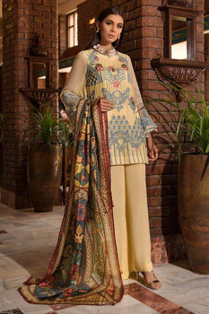 Iris - Khas Chiffon Collection
