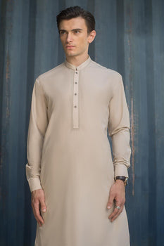 Peach Semi Fashion Shalwar Kameez - Ideas By Gul Ahmed