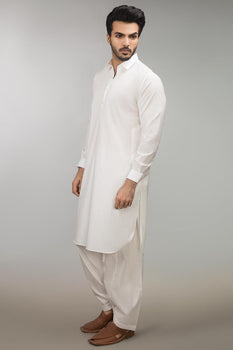 Off White Shalwar Kameez - Ideas By Gul Ahmed