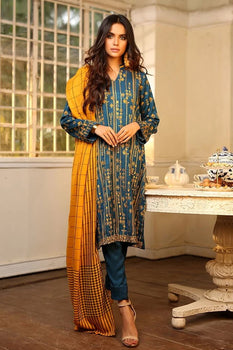 Design 2 Winter Embroidered Collection - LSM Fabrics