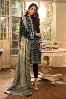 Design 4 Winter Embroidered Collection - LSM Fabrics