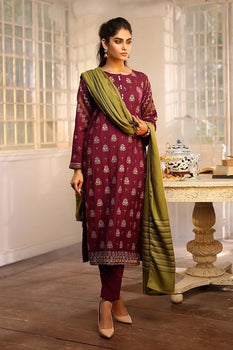 Design 5 Winter Embroidered Collection - LSM Fabrics