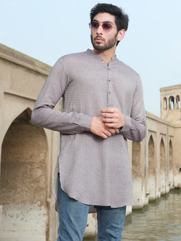 Light Grey Kurta - Almirah Winter