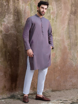 Purple Kurta - Almirah Winter