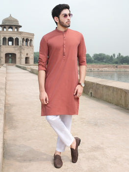 Rust Kurta - Almirah Winter