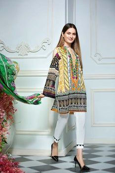 C-512 - Gul Ahmed Summer Lawn Collection '19
