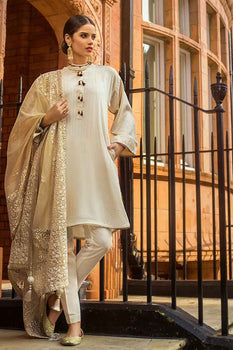 3 PC Unstitched Lawn Suit FE-200 - Gul Ahmed