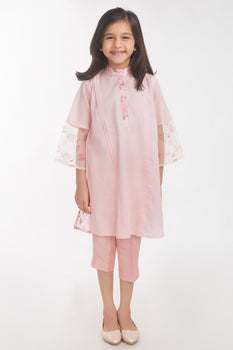 Pink Lawn 2 Piece Suit - Gul Ahmed Kids