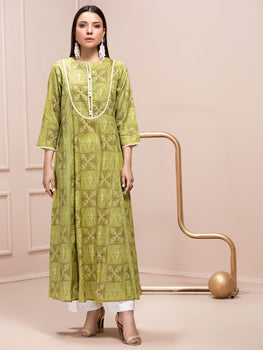 Green Lawn Shirt (1 Piece) - Limelight Eid