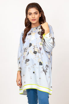 Printed MAK Cotton Satin Kurti