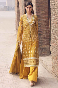 3 PC Unstitched Lawn Suit FE-253 - Gul Ahmed