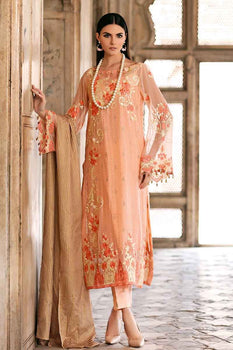 3 PC Unstitched Lawn Suit FE-252 - Gul Ahmed