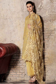 3 PC Unstitched Lawn Suit FE-226 - Gul Ahmed