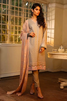 Design 1 Winter Embroidered Collection - LSM Fabrics