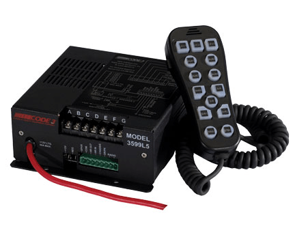 Code 3 H2 Covert Siren With Hand Held Controller
