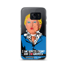 I Am Auntie-Trump And I Heart America - Samsung Case