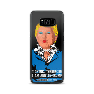 I Think, Therefore I Am Auntie-Trump - Samsung Case