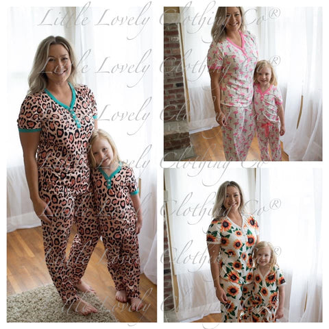 Mom & Me PJs- Ladies